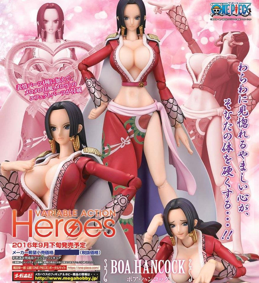 One Piece: Boa Hancock Variable Action Figure